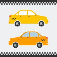 Taxi,Vector,Service,Old,USA...