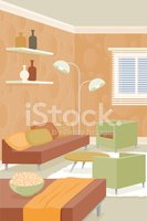 Living Room,Domestic Room,F...