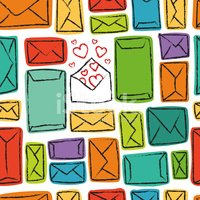Writing,Letter,Mail,Love,Il...