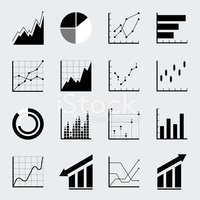 Data,Business,Icon Set,Abst...