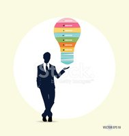 Businessman,Infographic,La...