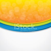 Abstract background with warm colors