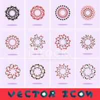 Geometric Shape,Vector,Circ...