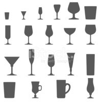 Wineglass,Silhouette,Shape,...