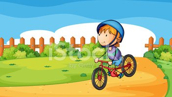 Cycling,Child,Outdoors,Day,...