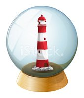 Lighthouse,Sphere,Circle,Pl...