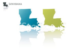 Louisiana,Map,state,Outline...