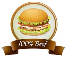 Hamburger,Sign,Clip Art,Bee...