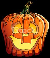 Pumpkin,Halloween,Cartoon,H...