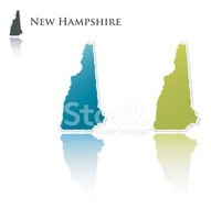 New Hampshire,Map,state,Gre...