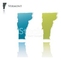 Vermont,Map,state,Vector,Ou...