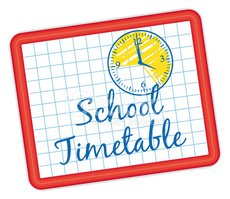 Image result for timetable clipart