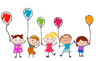 Kids and Balloons
