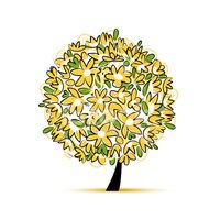 Fun,Yellow,Vector,Leaf,Outl...