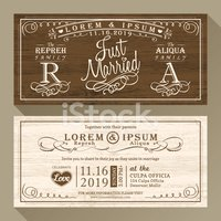 Wedding Invitation,Retro Re...
