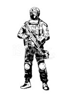 Special forces soldier.