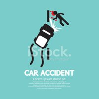 Car,Accident,Traffic,Vector...