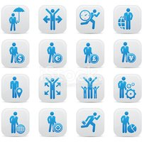 Human Resources,Icon Set,Sy...