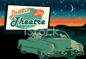 Drive-in Movie,Movie Theate...