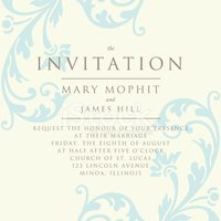 Invitation,Frame,Wedding,Pa...