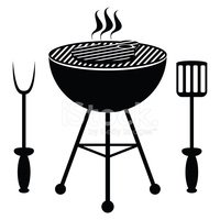 Symbol,Barbecue Grill,Barb...
