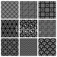 Pattern,Square,Black And Wh...