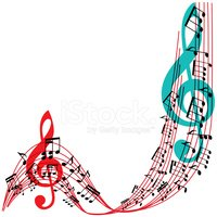 Treble Clef,Musical Note,Si...