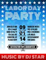 Labor Day,Symbol,Barbecue G...