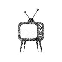 Television Set,hand drawn,T...