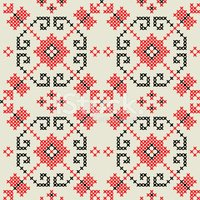 Ukrainian Seamless Pattern Stock Vectors Clipart Me