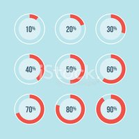 Percentage Sign,Infographic...