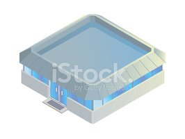 Isometric,Built Structure,B...