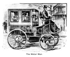Car,Victorian Style,Engrave...