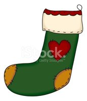 Christmas Stocking,Patchwor...