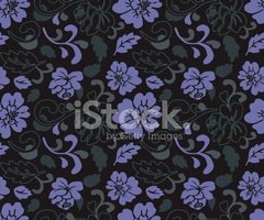 Seamless Antique Rose Repeat - Wallpaper / Pattern