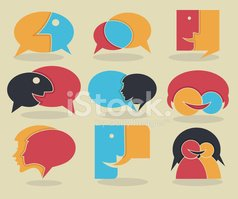 Talking,Discussion,People,C...