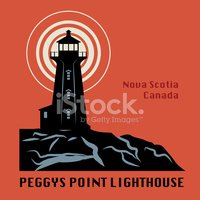 Lighthouse,Nova Scotia,Symb...