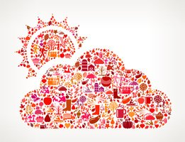 Ilustration,Fruit,Cloud - S...