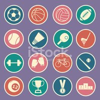 Volleyball,Symbol,Badminton...