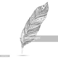 Feather,Computer Graphics,M...
