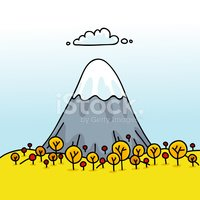 Mountain,Cartoon,Landscape,...
