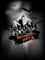 Halloween,Ghost,Party - Soc...