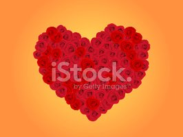 Rose - Flower,Heart Shape,B...