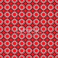 Sans soudure ethnique africaine Star Flower Pattern