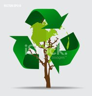 Recycling Symbol,Background...