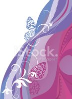 Butterfly - Insect,Floral P...