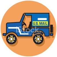 Mail Truck Icon stock vectors - Clipart.me