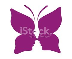 Human Face,Butterfly - Inse...