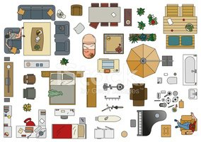Kitchen Set Clip Art
