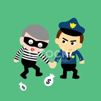 Crime,Symbol,Cute,Currency,...